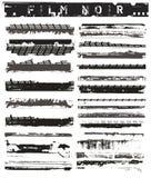 Bordas velhas da película ilustração stock