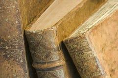 Bordas dos livros velhos Imagens de Stock Royalty Free
