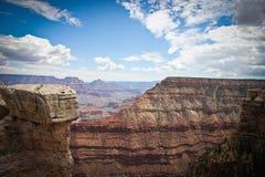 Borde de Grand Canyon Imagen de archivo libre de regalías