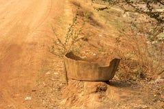 Borde de la carretera cerca de Siem Reap Fotos de archivo libres de regalías