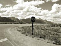 Borde de la carretera Tetons Foto de archivo libre de regalías
