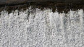 Borde de la cascada almacen de metraje de vídeo