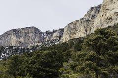 Borde de la montaña Imagen de archivo