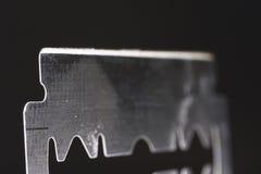 Borde de maquinilla de afeitar Fotos de archivo libres de regalías