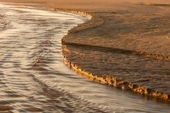 Borde del agua Imagen de archivo