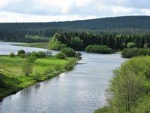 Borde del agua de Kielder, Northumberland, Inglaterra foto de archivo