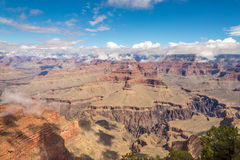 Borde del norte de la opinión de Grand Canyon del punto del Hopi Imagen de archivo libre de regalías