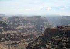 Borde del oeste de Grand Canyon en Arizona del noroeste Imagen de archivo libre de regalías