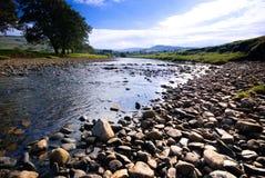 Borde del río Ure I imágenes de archivo libres de regalías