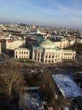 Borde patinador Volkstheater de Viena fotos de archivo libres de regalías