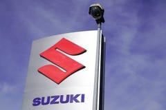 Bordeaux , Aquitaine / France - 10 27 2019 : suzuki sign vehicle shop car logo dealership store