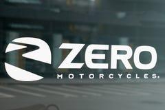 Bordeaux , Aquitaine / France - 10 14 2019 : zero motorcycles logo sign store modern american electric bike motorbike shop