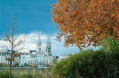 Bordeaux in Autumn Stock Images