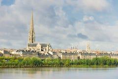 Bordeaux bij een de zomerdag royalty-vrije stock foto's