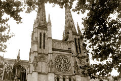 Bordeaux cathedral Royalty Free Stock Photos