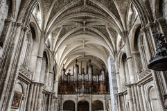 Bordeaux Cathedral royalty free stock image