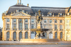 Bordeaux city in France royalty free stock image