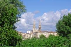 Bordeaux city Royalty Free Stock Photography
