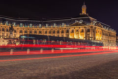 Bordeaux city Royalty Free Stock Images