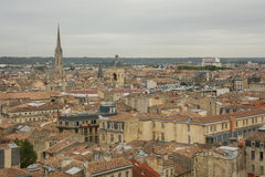 Bordeaux, France. An aerial view over Bordeaux, France Stock Photo