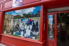 Being Human boutique in Bordeaux. Bordeaux, France - May 5, 2019: A shopwindow Being Human boutique in Bordeaux stock image