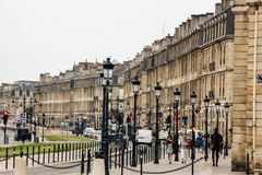 Cityscape of Bordeaux Stock Photography