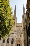 Saint andrew cathedral at Bordeaux Royalty Free Stock Photos
