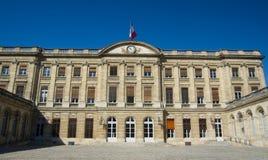 BORDEAUX, FRANCIA - 6 SETTEMBRE 2015: Palaise Rohan nel centro del Bordeaux, l'Aquitania, Francia, settembre 2015 Fotografia Stock Libera da Diritti