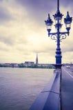 Bordeaux Frankrike Europa Arkivfoton