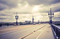 Bordeaux Frankrike Europa Fotografering för Bildbyråer