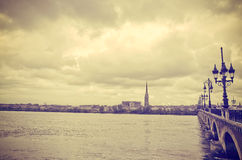 Bordeaux Frankrike Europa Arkivbild