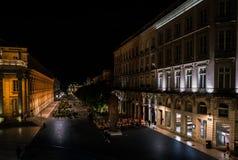 Bordeaux Frankrike, 10 kan 2018 - den storslagna operahus`-tusen dollar Thé Arkivbilder