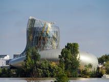 BORDEAUX, GIRONDE/FRANCE - 19. SEPTEMBER: Ansicht von La Cite du Vin Stockfotos