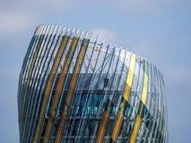 BORDEAUX, GIRONDE/FRANCE - 19. SEPTEMBER: Ansicht von La Cite du Vin Stockfotografie