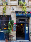 BORDEAUX, GIRONDE/FRANCE - SEPTEMBER 21 : Creperie Open for Busi Royalty Free Stock Image