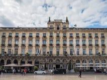 BORDEAUX, GIRONDE/FRANCE - SEPTEMBER 19 : Facade of the Grand Ho Royalty Free Stock Image