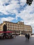 BORDEAUX, GIRONDE/FRANCE - SEPTEMBER 19 : Facade of the Grand Ho Royalty Free Stock Photo