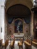 BORDEAUX GIRONDE/FRANCE - SEPTEMBER 20: Inre sikt av en Al Fotografering för Bildbyråer