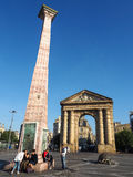 BORDEAUX, GIRONDE/FRANCE - 21. SEPTEMBER: Place de la Victoire I Stockbilder
