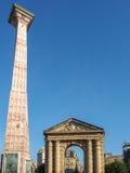 BORDEAUX, GIRONDE/FRANCE - SEPTEMBER 21 : Place de la Victoire i Royalty Free Stock Photos