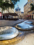 BORDEAUX, GIRONDE/FRANCE - SEPTEMBER 21 : View of Modern Sculptu Stock Photography