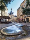 BORDEAUX, GIRONDE/FRANCE - SEPTEMBER 21 : View of Modern Sculptu Royalty Free Stock Photos