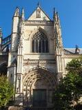 BORDEAUX, GIRONDE/FRANCE - 21 SEPTEMBRE : Basilique de St Michael Images libres de droits