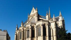 BORDEAUX, GIRONDE/FRANCE - 21 SEPTEMBRE : Basilique de St Michael Photos libres de droits