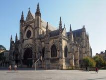 BORDEAUX, GIRONDE/FRANCE - 21 SEPTEMBRE : Basilique de St Michael Image stock