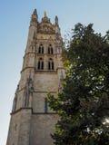 BORDEAUX, GIRONDE/FRANCE - 20 SEPTEMBRE : Façade de la chaise Images stock