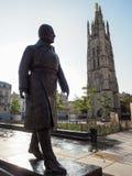 BORDEAUX, GIRONDE/FRANCE - 20 SEPTEMBRE : Statue de Jacques Chab Image stock