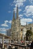 Bordeaux-Kathedrale Stockfotografie