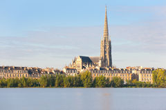 Bordeaux in the morning Stock Images