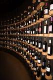 Bordeaux Nouvelle aquitaine/Frankrike - 06 20 2018: Citera du Vin den på plats boutique Royaltyfri Fotografi